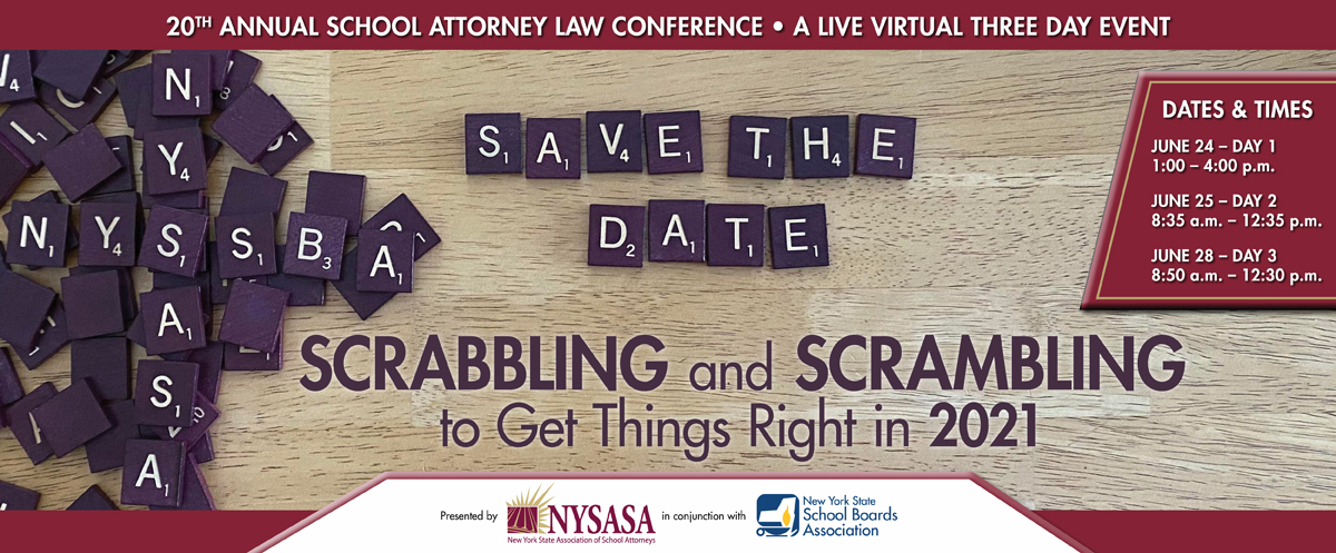 2021 NYSASA (Save the Date) Conference