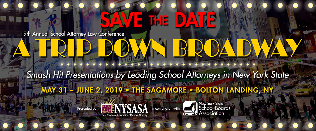 2019 NYSASA (Save the Date) Conference